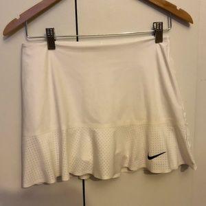 Nike White Tennis Skirt